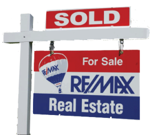 REMAX SOLD SIGN